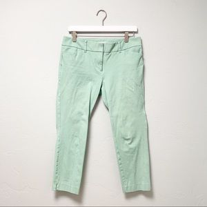 NY&C Audrey Ankle Pants Mint Green sz 6
